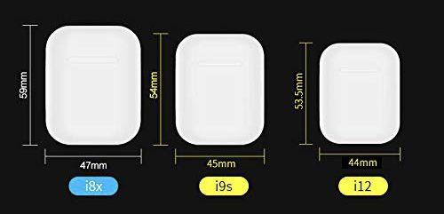Audífonos Bluetooth Tipo Airpods I12 FitBuds - Colores Varios
