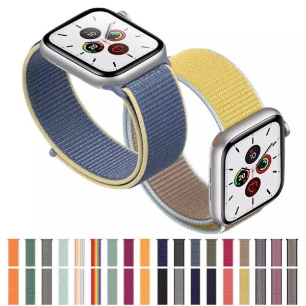 correa nylon apple watch