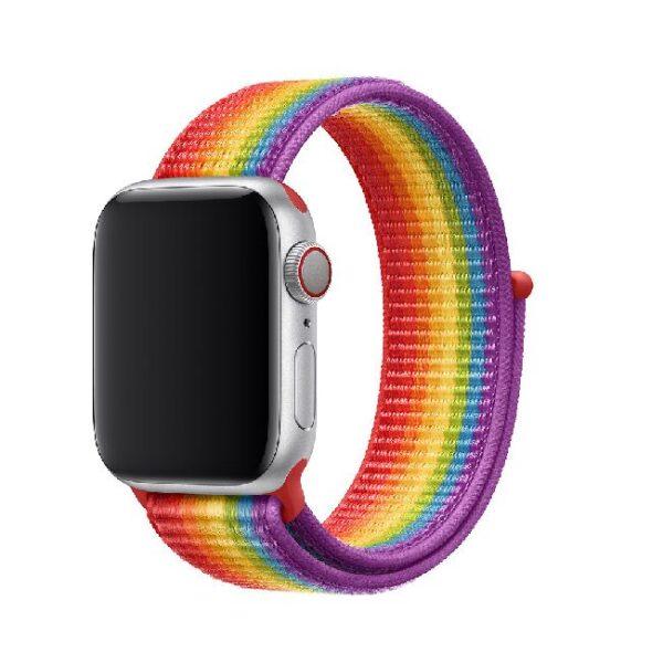 Pulsos Nylon Loop para reloj Apple Watch, 38/40mm, Serie 1,2,3,4,5,6,SE