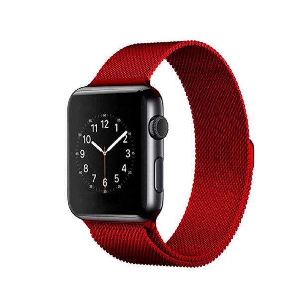 Pulso Milanese Para Apple Watch, 42/44mm, Series 1,2,3,4,5,6,SE