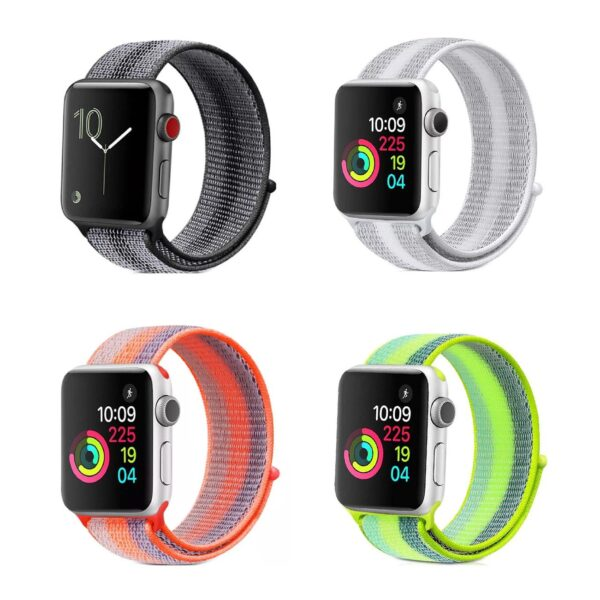 pulso apple watch nylon