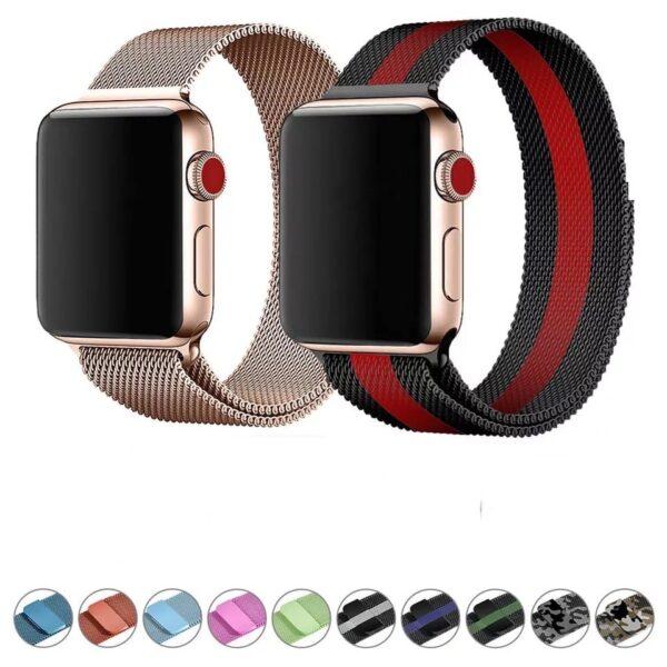 Pulso milanese para Apple Watch