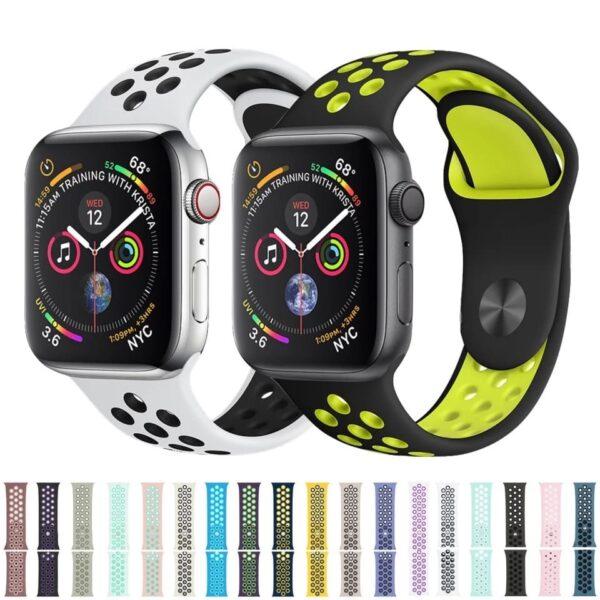 Pulsos sport para Apple Watch