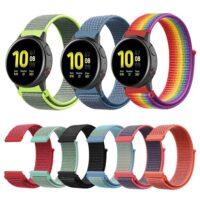 Pulsos En Nylon Loop Para Smartwatch Samsung