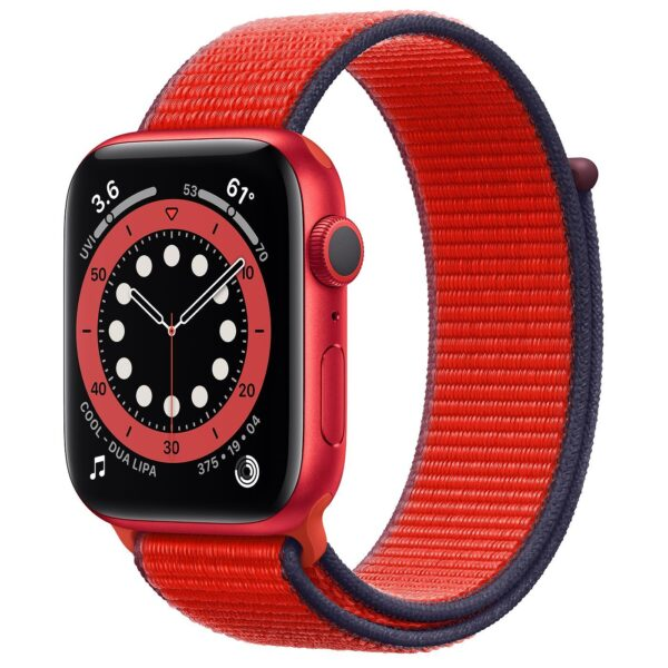 Pulso Apple Watch Red Series 6