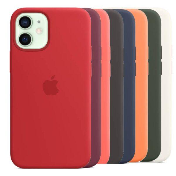 Estuche En Silicona Para IPHONE 11/11 PRO/11 PRO MAX Colores Varios