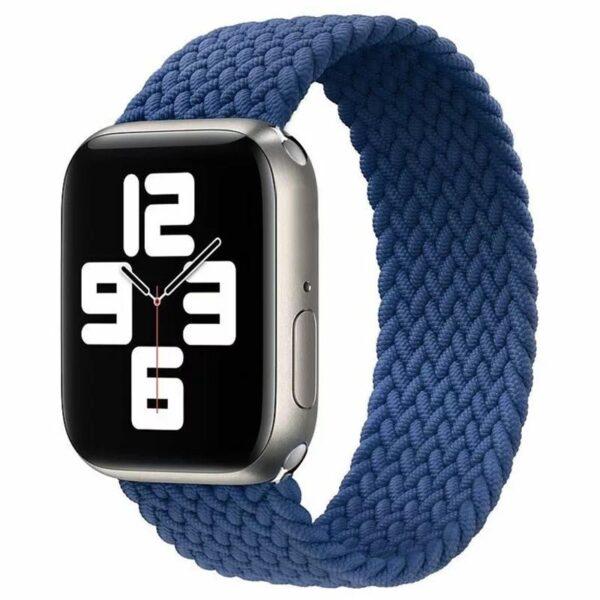 Pulsos Braided Solo Loop para Apple Watch 38/40mm, Series 1,2,3,4,5,6,SE