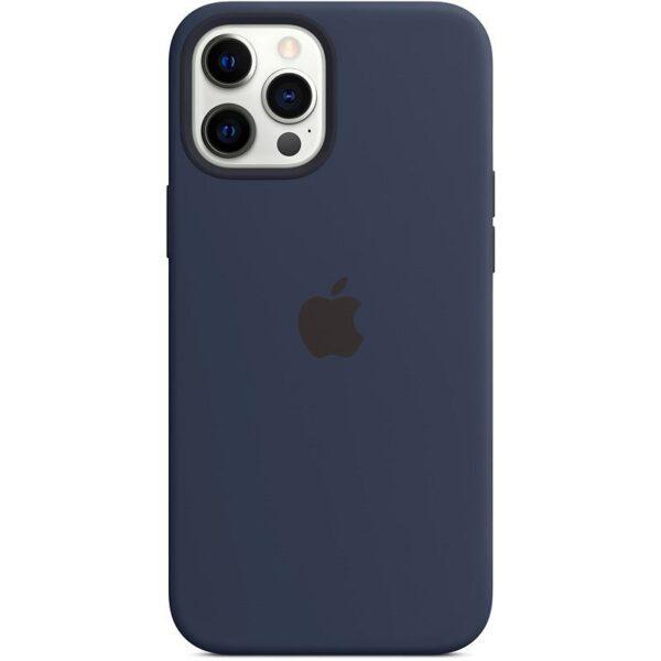 Estuche En Silicona Para IPHONE 12 PRO MAX Colores Varios
