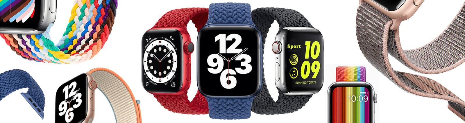 Pulsos Nylon para smart watch