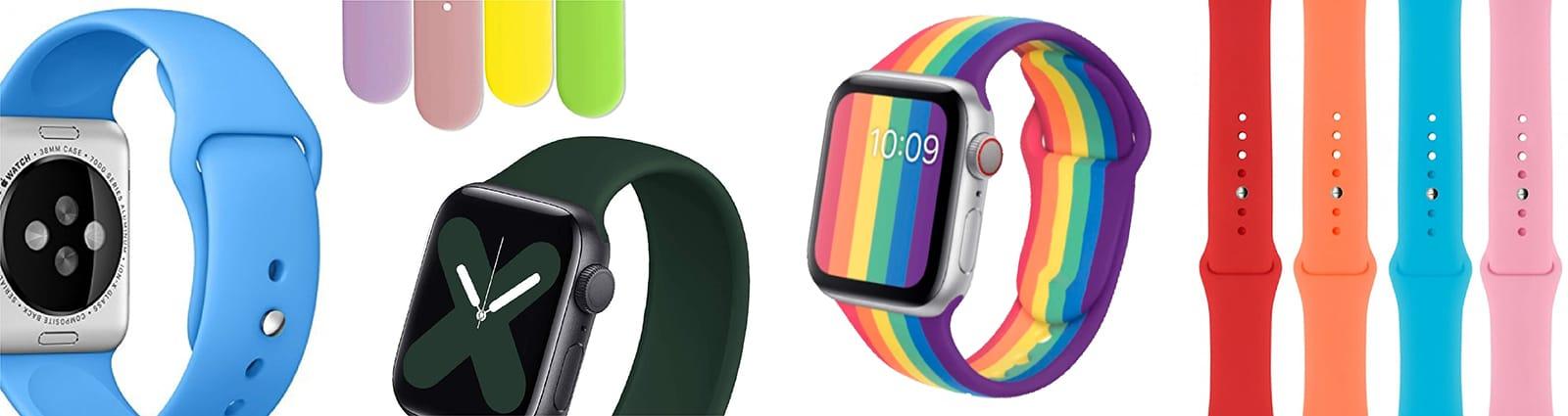 Pulsos Silicona para smart watch